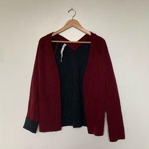 Lululemon Reversible Wool Cardigan!